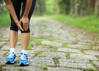 The Pain of Marathons: Pain in the Knees
