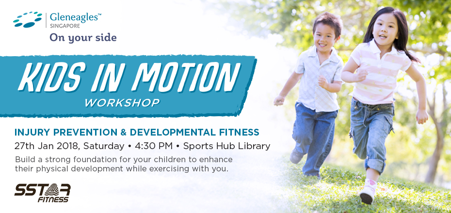 Kids in Motion: A Developmental Fitness Workshop For Adults & Children