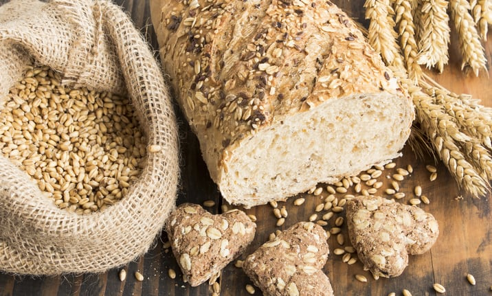 Whole grains and oats