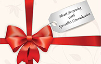 Cardiac screening programme with specialist consult