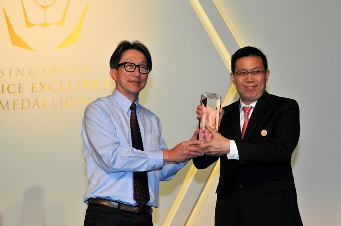 Gleneagles Hospital-Winner of 2015 Singapore Service Excellence Medallion Commendation Award for Trusted Service