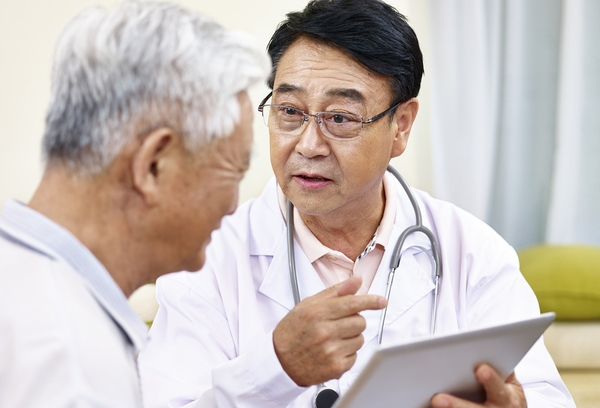Prostate test - annual PSA test for older men